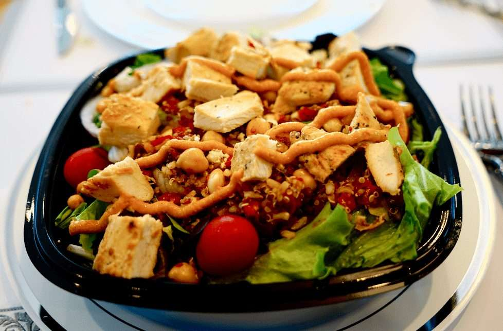 Best fast food salads at Wendy's