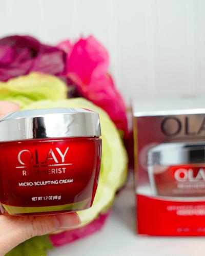 An Anti-Aging, Moisturizing, Plumping Powerhouse! Olay Micro-Sculpting Cream