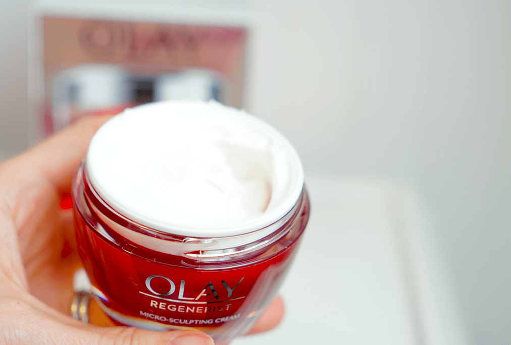 An Anti-Aging, Moisturizing, Plumping Powerhouse - Olay Micro-Sculpting Cream