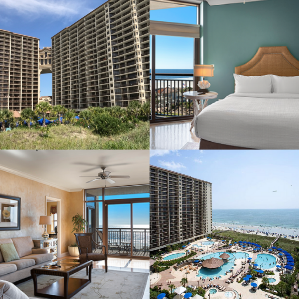 The perfect accommodations for a wellness vacation at North Beach Plantation in Myrtle Beach