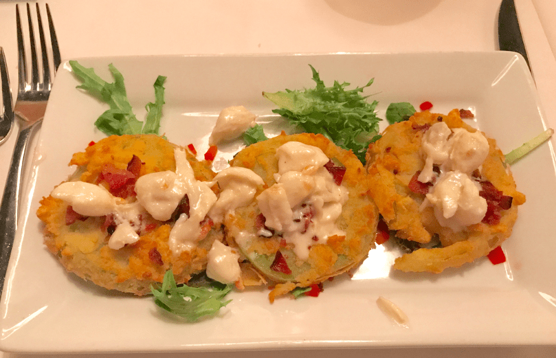 Fried Green Tomatoes are a delicious southern appetizer