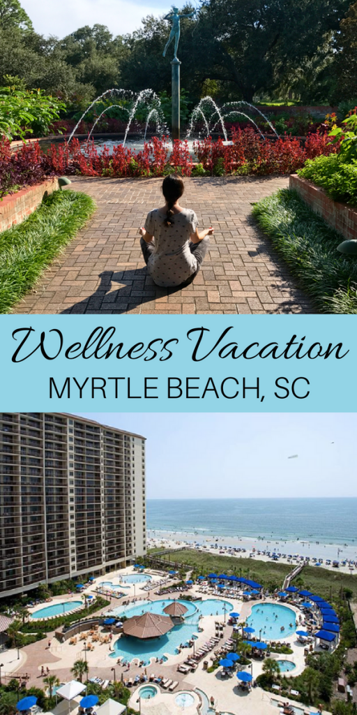 Check out the details of my wellness vacation to Myrtle Beach, SC. Hiking, surf lessons, healthy eating, yoga on the beach and more!