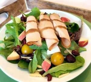 Dried Cranberry & Honey Maple Turkey Salad