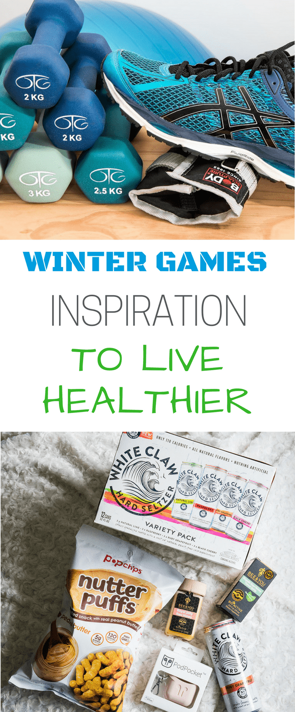 Find out how the Winter Games are Inspiring me to Live Healthier
