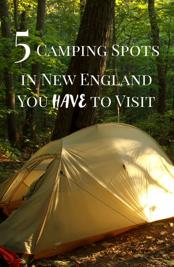 Looking for places to camp in New England? We've got you covered with 5 excellent recommendations.