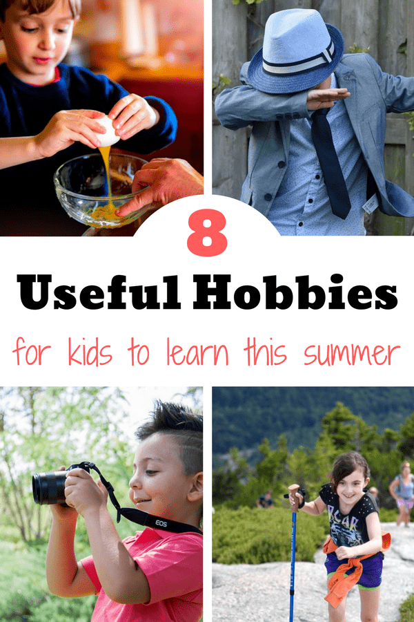 If you are panicked about what to do with your kids this summer, consider these 8 hobbies for kids to learn useful skills for the future.
