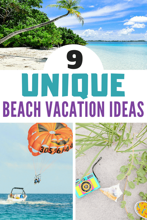 Looking for a more unique beach vacation? Check out these beach vacation ideas, tips and tricks