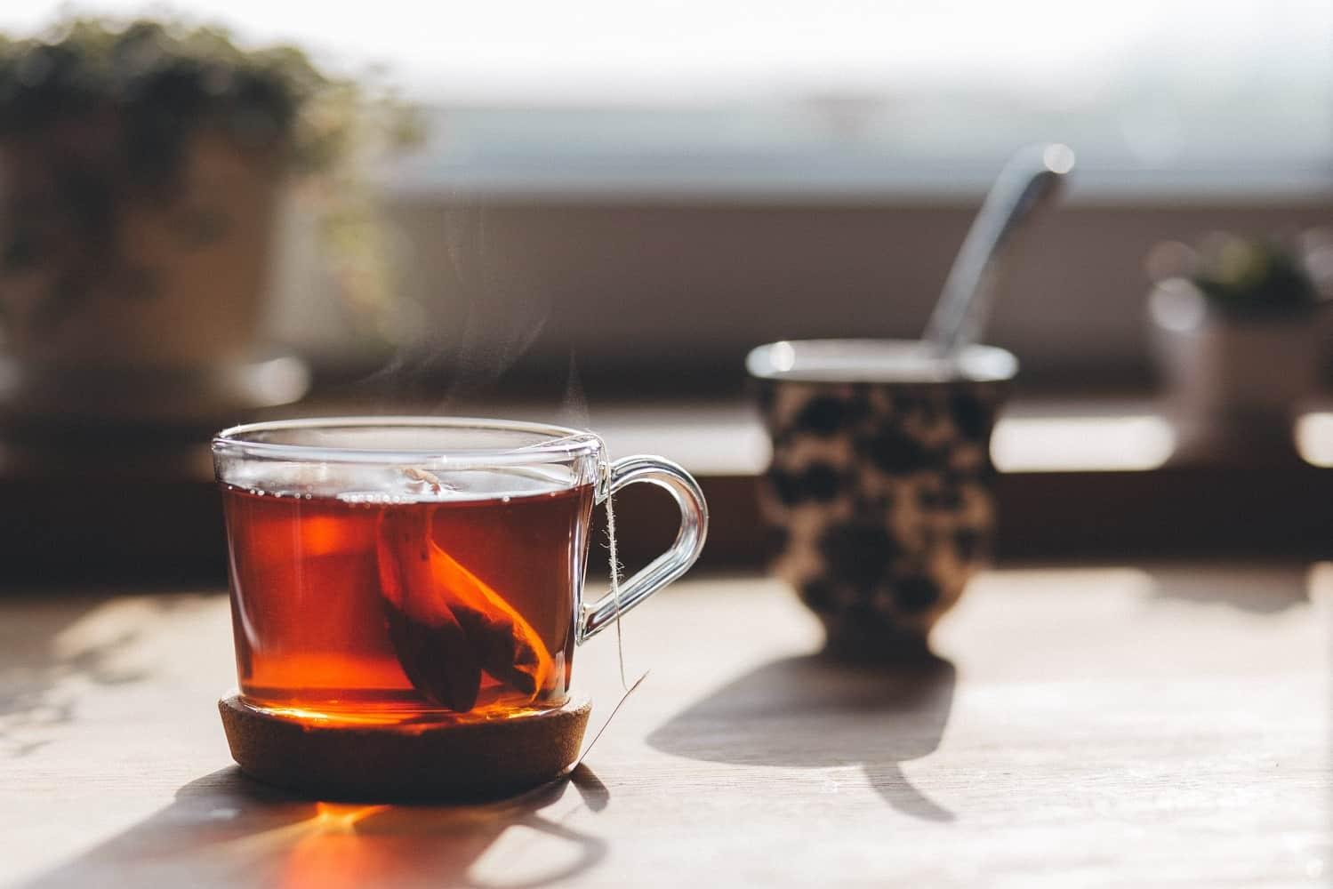 Unsweetened Tea in a Mug