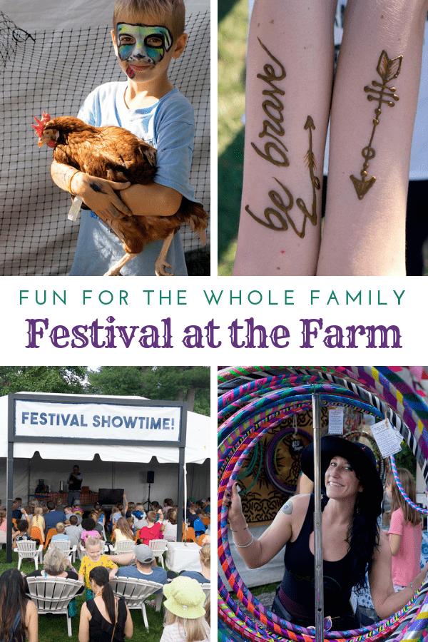 festival at the farm pin