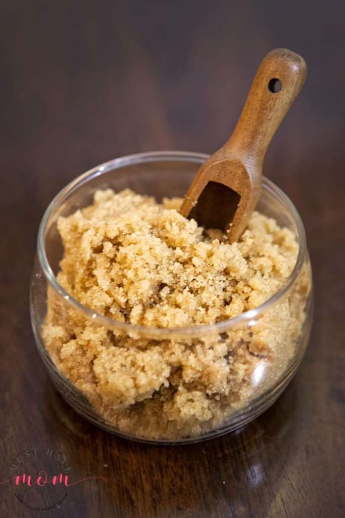 Want glowing skin year-round. You have to try this homemade sugar scrub.