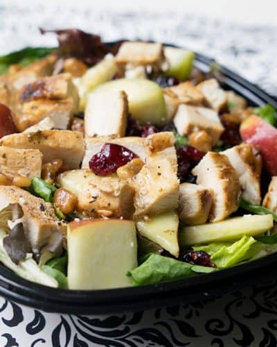Healthy Eating is Easy with Wendy's Harvest Chicken Salad