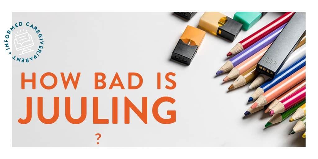 How Bad is JUULing