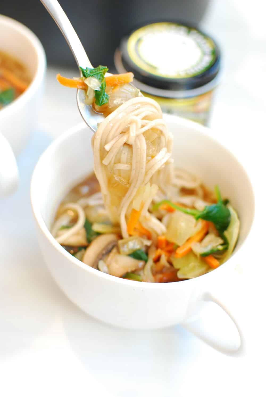 Soba Noodle Broth Bowl