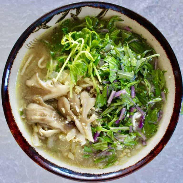 Vegan Shiritaki Broth Bowl