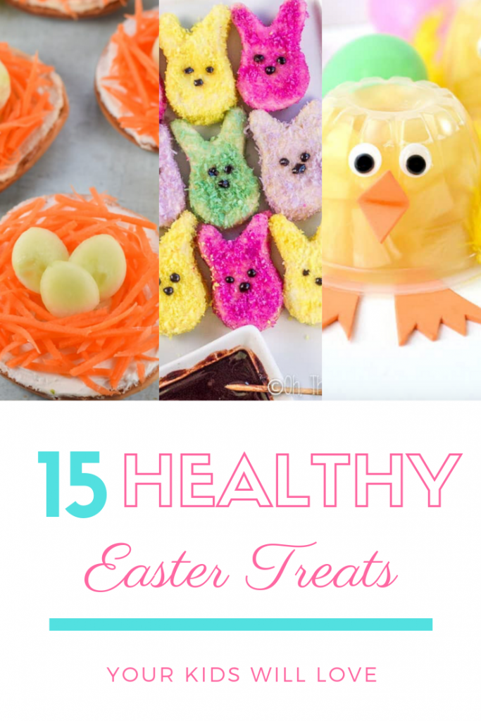 healthy easter treats pin