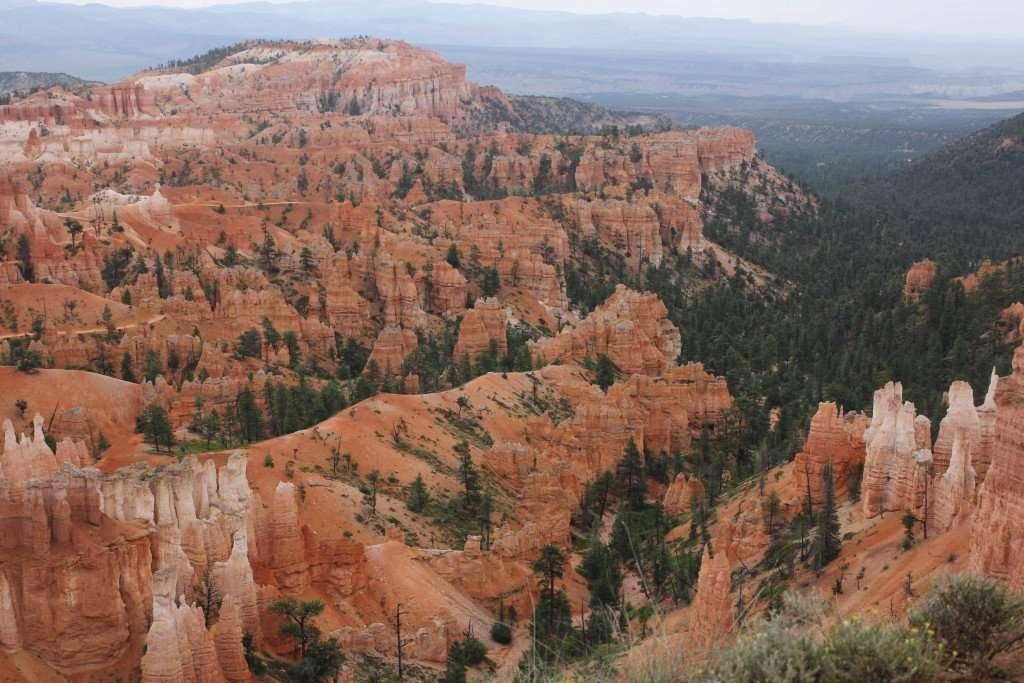 view of Bryce Canyon, Utah
