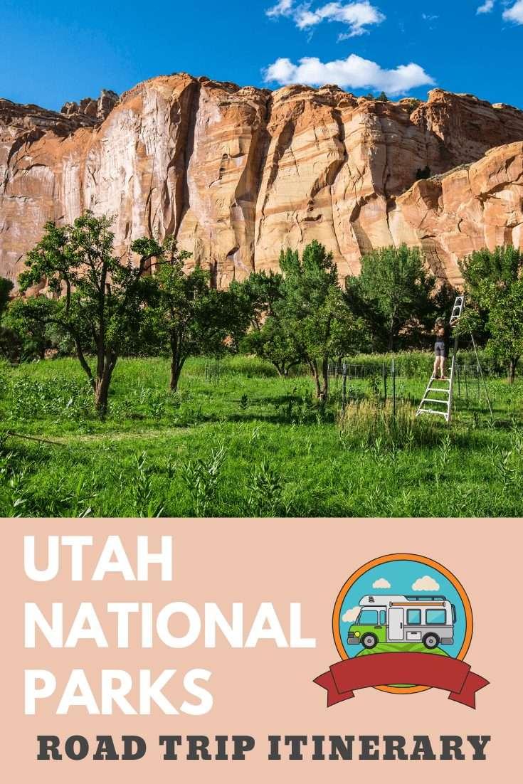 Utah national parks pin