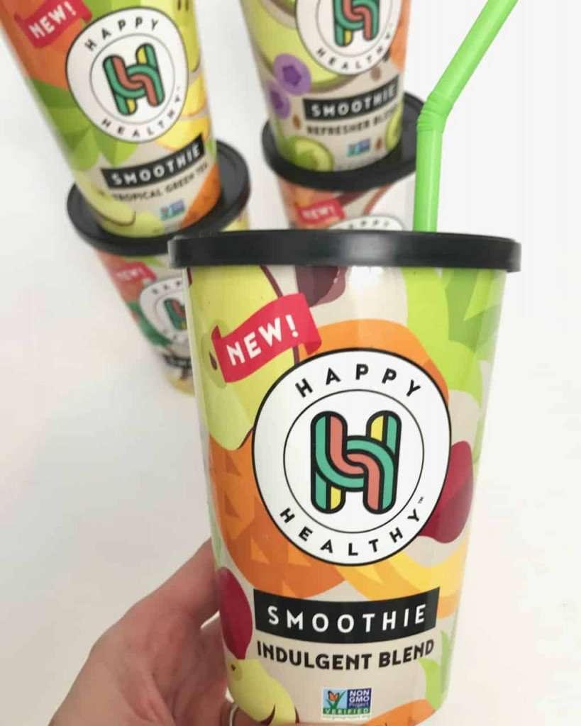 happy healthy smoothie