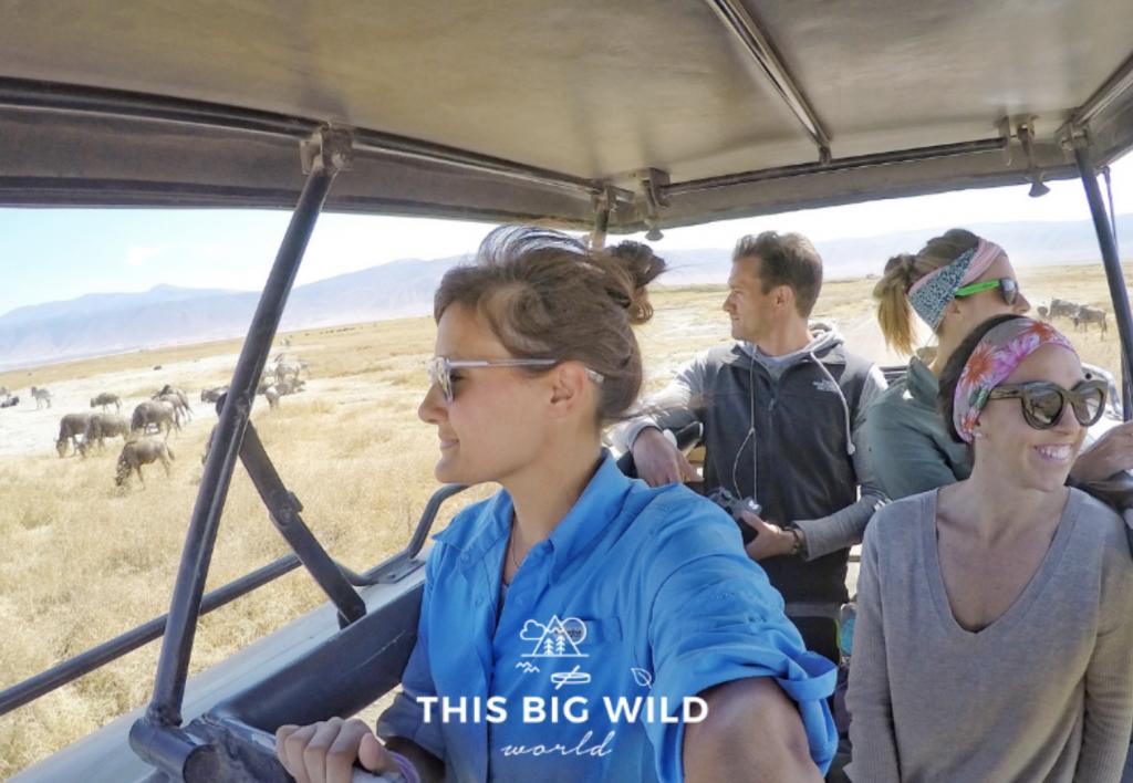 African safari jeep