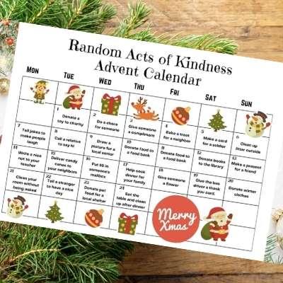 2020 Random Acts of Christmas Kindness Advent Calendar