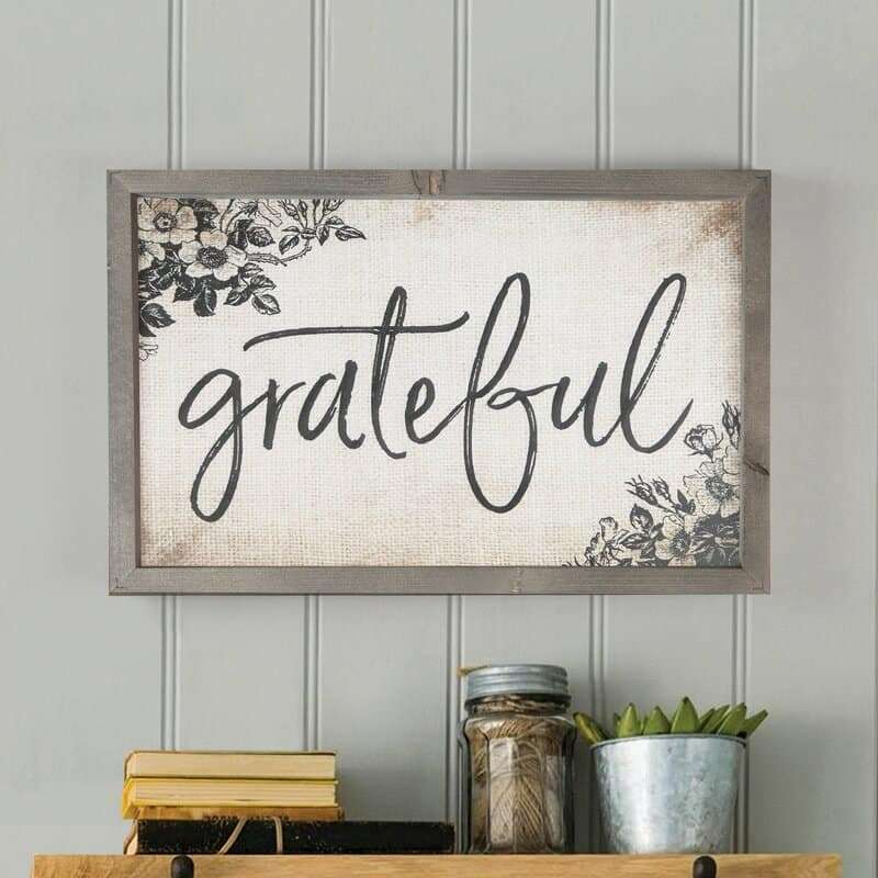 grateful wall hanging fall decor