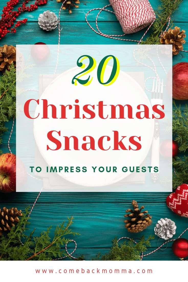 Christmas snacks pin