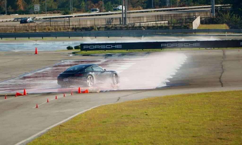 Porsche Experience Center - kick plate