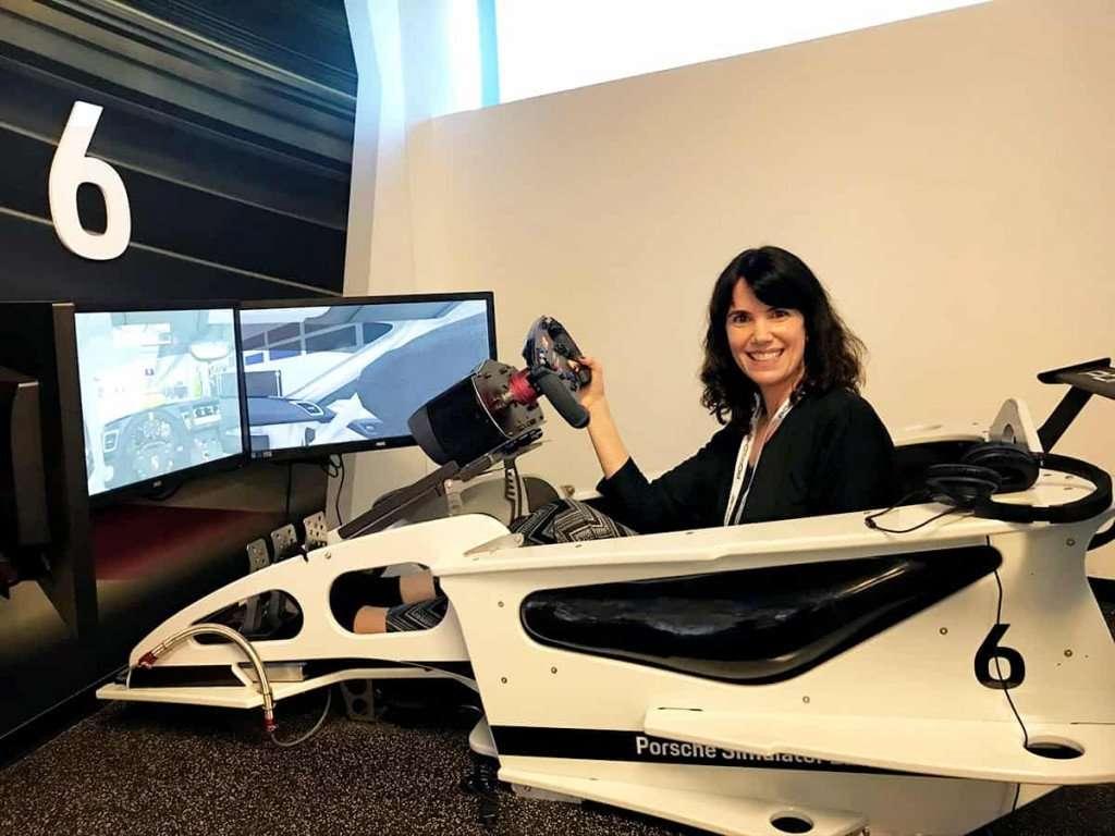 Porsche Experience Center - Simulator