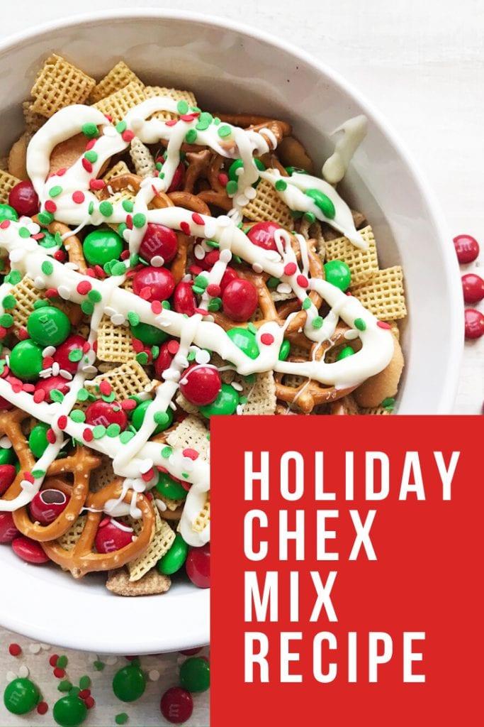 holiday chex mix recipe