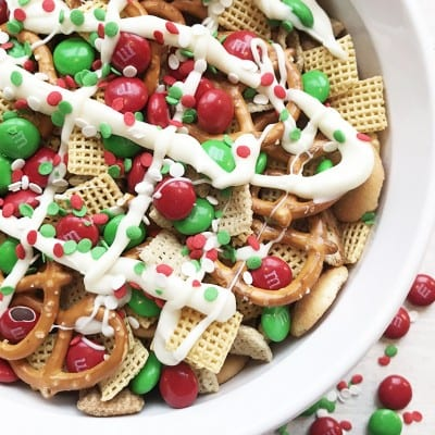 holiday Chex mix