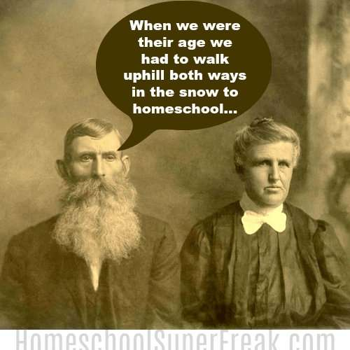 funny meme about homeschooling